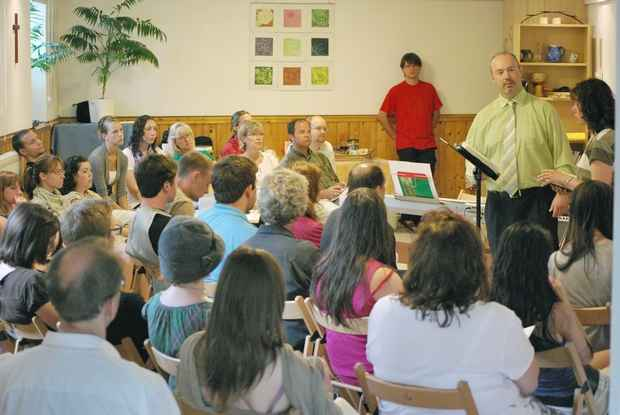 Preaching in Budapest FMC